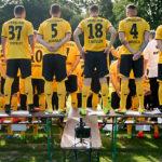 Динамо Дрезден: предсезонная командная фотосессия.