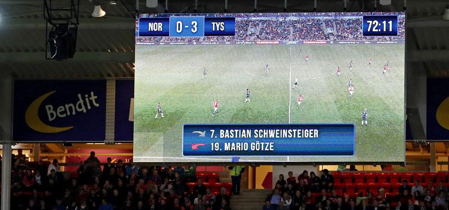 Отборочный матч Норвегия-Германия