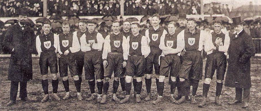 сборная германии 1908