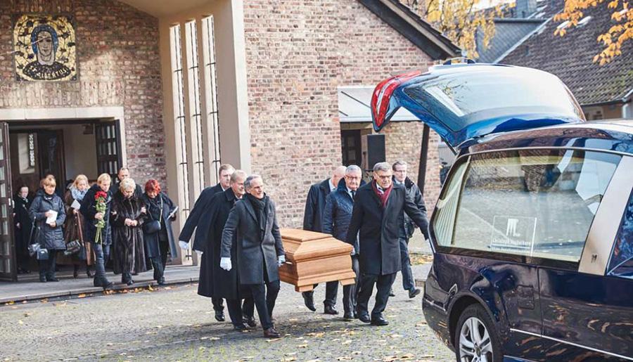 ханс шефер похороны