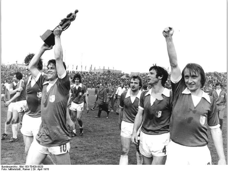 Победитель Кубка ГДР ФК Магдебург