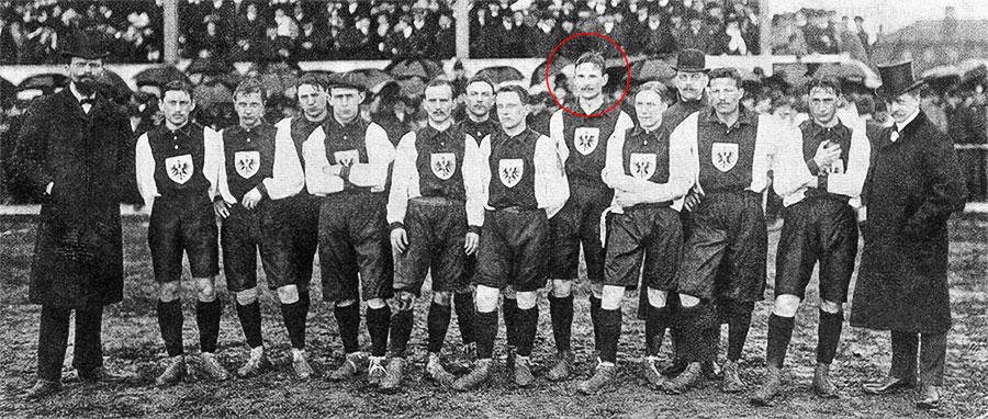 сборная Германии 1908 года