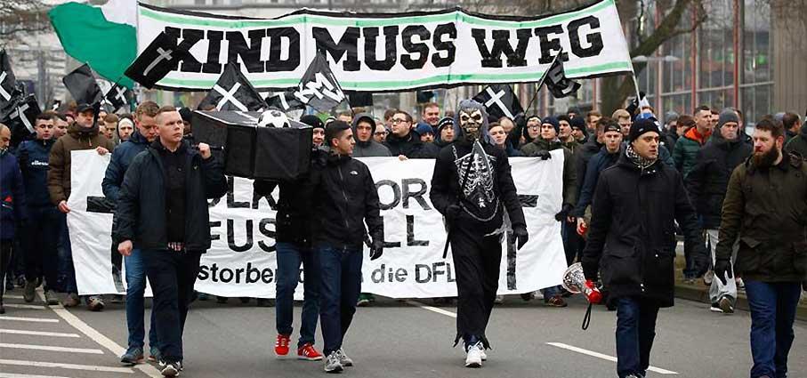протест фанатов ганновера