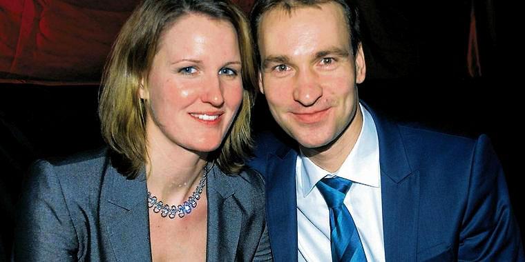 бастиан данкерт с супругой