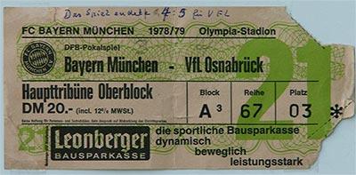 мюнхенская бавария билет
